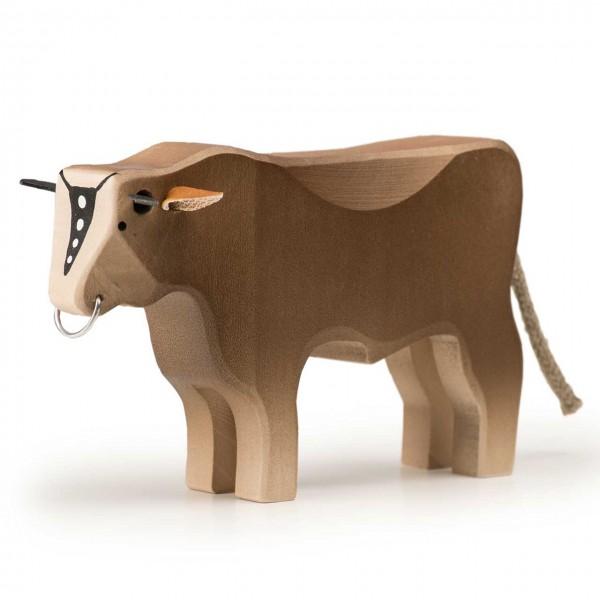 Trauffer Stier braun groß
