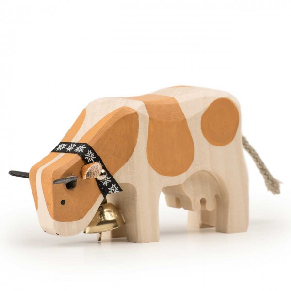 Trauffer Kuh 1 Simmentaler fressend