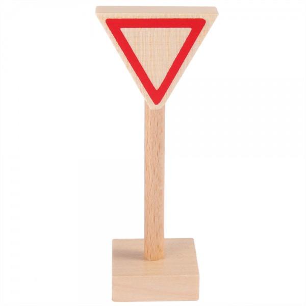 Verkehrszeichen Vorfahrt gewähren
