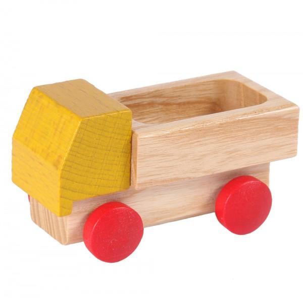 Lieferwagen gelb