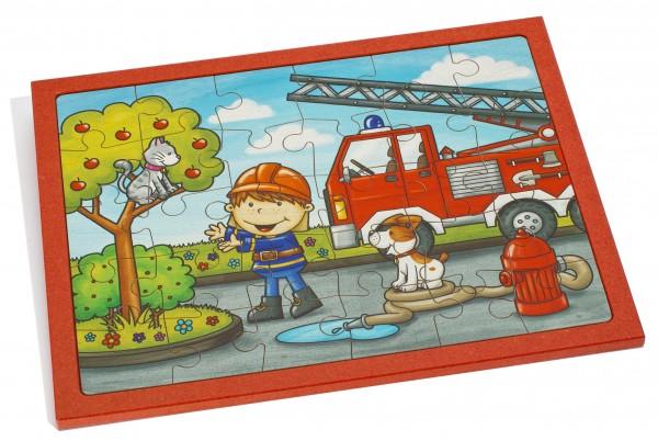 Puzzle Feuerwehr klein