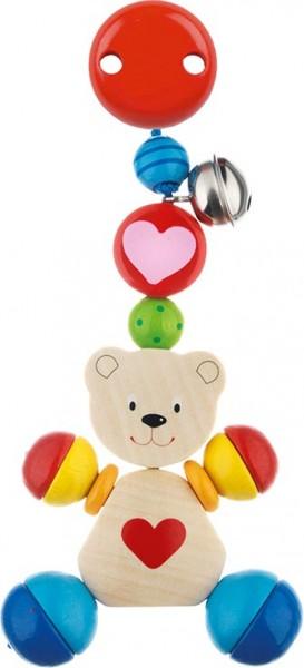 Clip -Figuren Herzbär