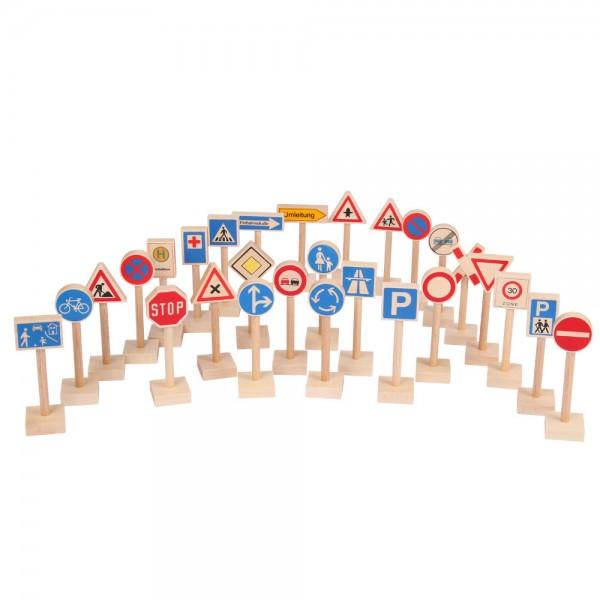 Verkehrszeichen Satz 28 Stück