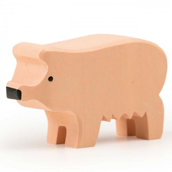 Trauffer Schwein groß rosa