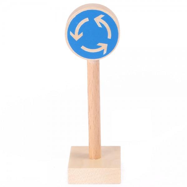 Verkehrszeichen Kreisverkehr