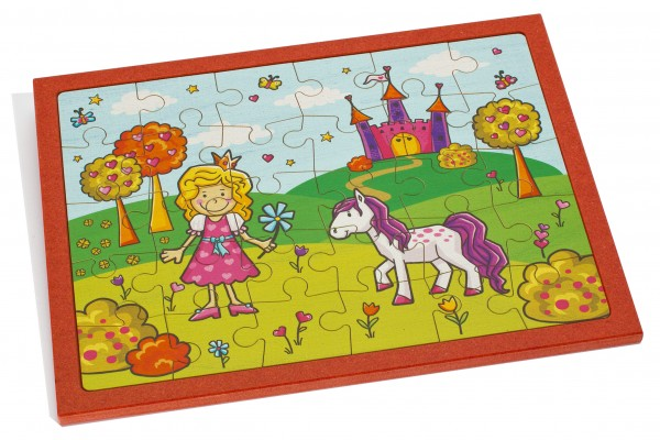 Puzzle Prinzessin groß bedruckt