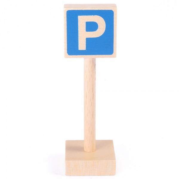 Verkehrszeichen Parkplatz