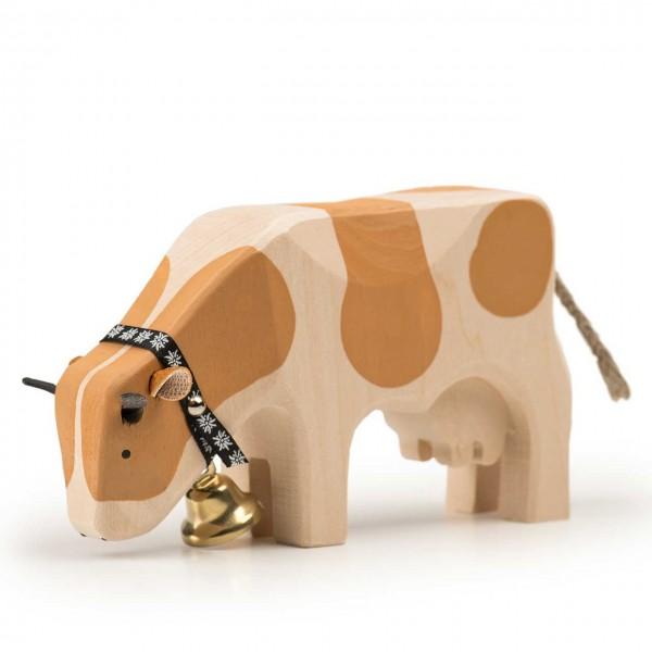 Trauffer Kuh 2 Simmentaler fressend