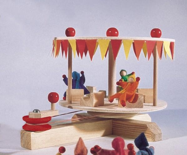 Karussell mit 3 Puppen