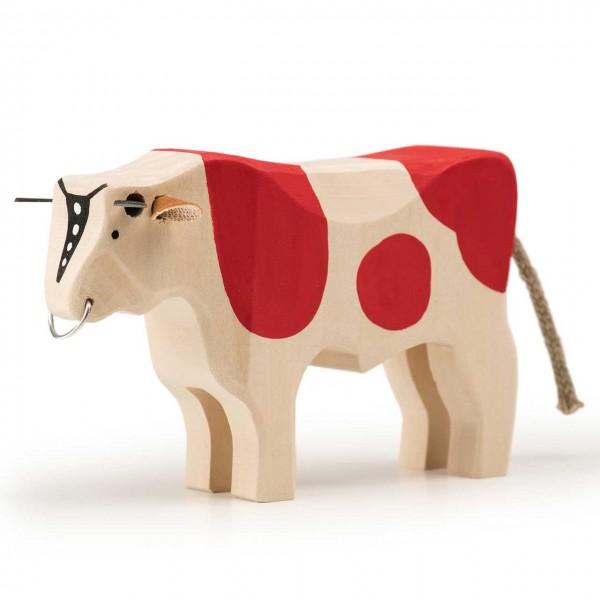 Trauffer Stier rot groß