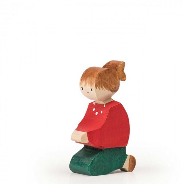 Trauffer Figur Bärbi knieend