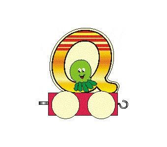 Buchstabenzug Q
