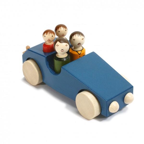 """Auto """"Philipp 3"""" blau"""