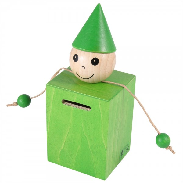 Spardose grün