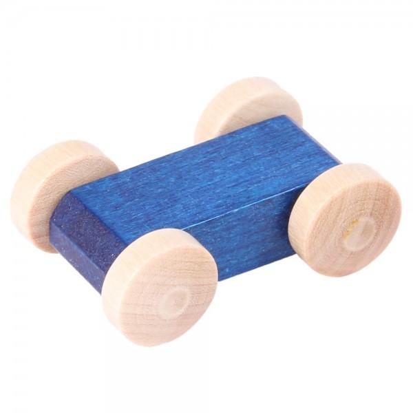 Rennauto blau für Laufbahn