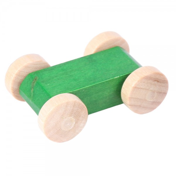 Rennauto grün für Laufbahn