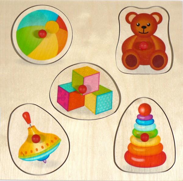 Griffpuzzle, Spielzeug
