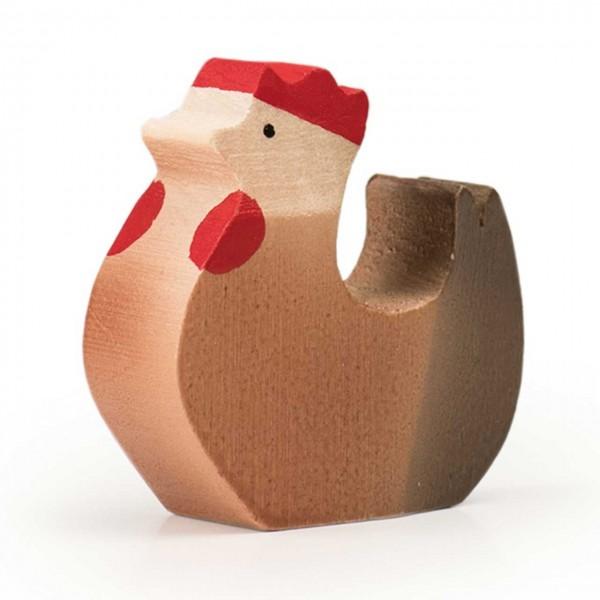 Trauffer Huhn stehend