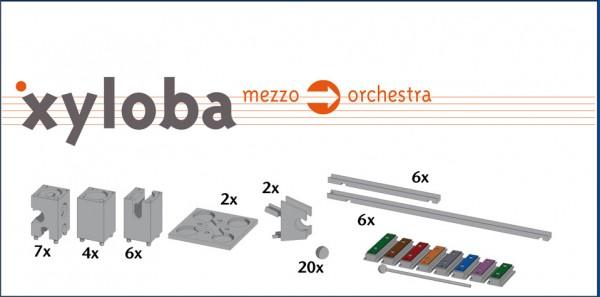 Xyloba Erweiterungskasten - mezzo -> orchestra