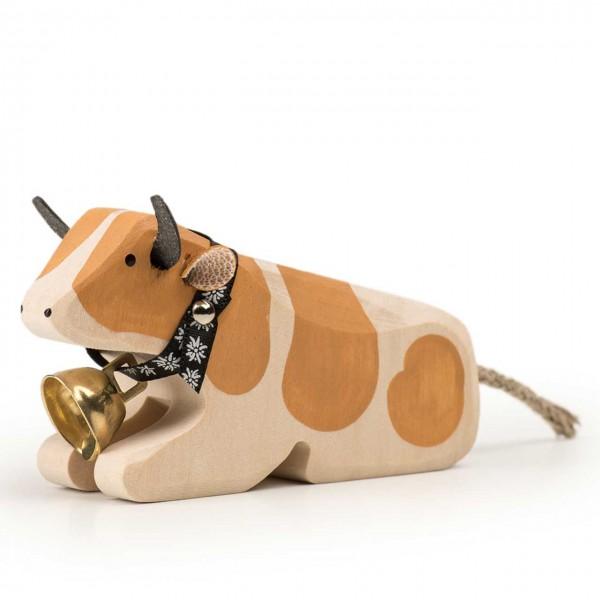 Trauffer Kuh 1 Simmentaler liegend