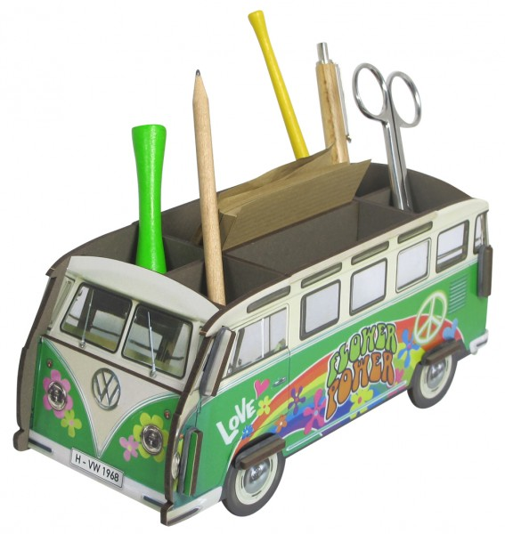 Stiftebox VW Bus Hippie