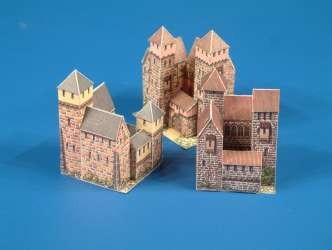 Schreiber-Bogen 3 kleine Burgen