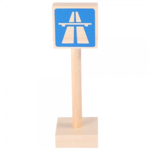 Verkehrszeichen Autobahn