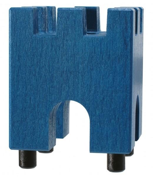 Xyloba Startklotz - Burgzinne blau