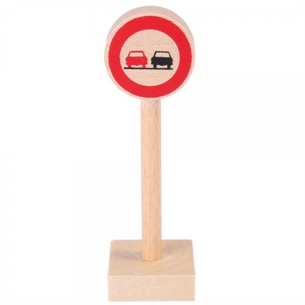 Verkehrszeichen Überholverbot