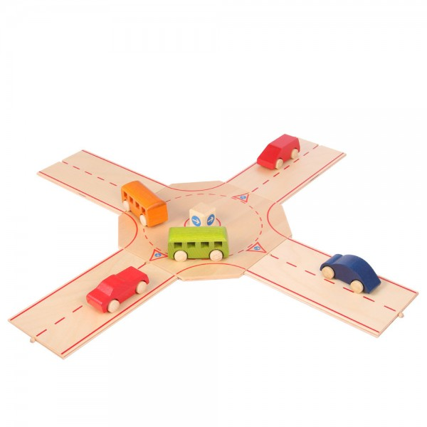 Straßenelement Kreisverkehr