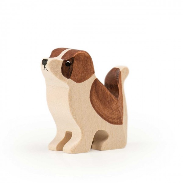 Trauffer Hund Barry Welpe sitzend