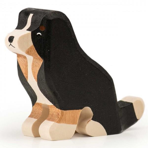 Trauffer Berner Sennenhund groß sitzend