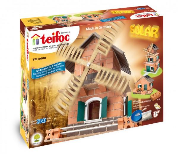 Teifoc Solar-Haus-Windmühle