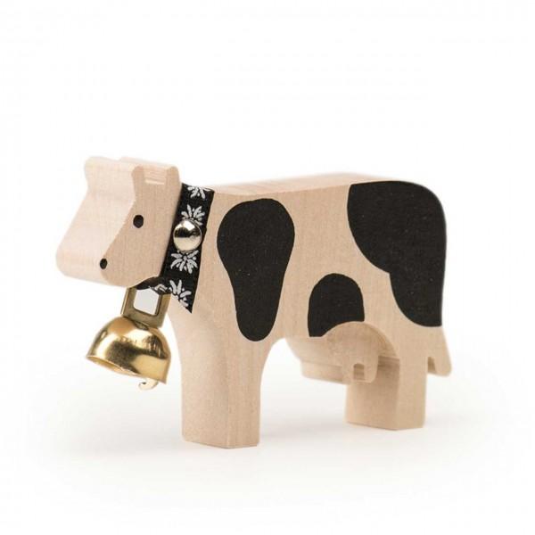 Trauffer Magnet Kuh Schwarz