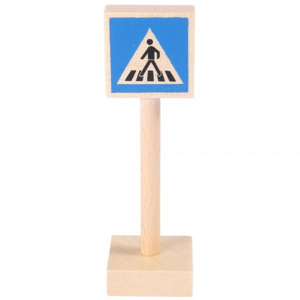 Verkehrszeichen Fußgänger