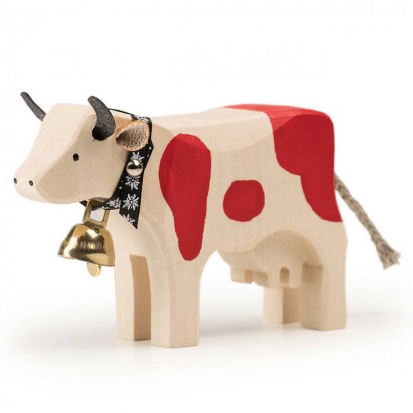 Trauffer Kuh 1 rot stehend