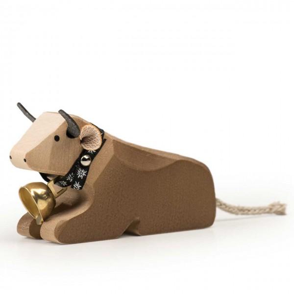 Trauffer Kuh 1 Braunvieh liegend