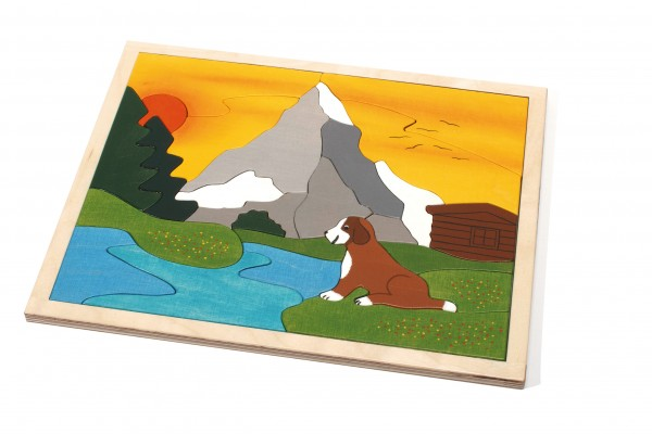 Puzzle Matterhorn groß