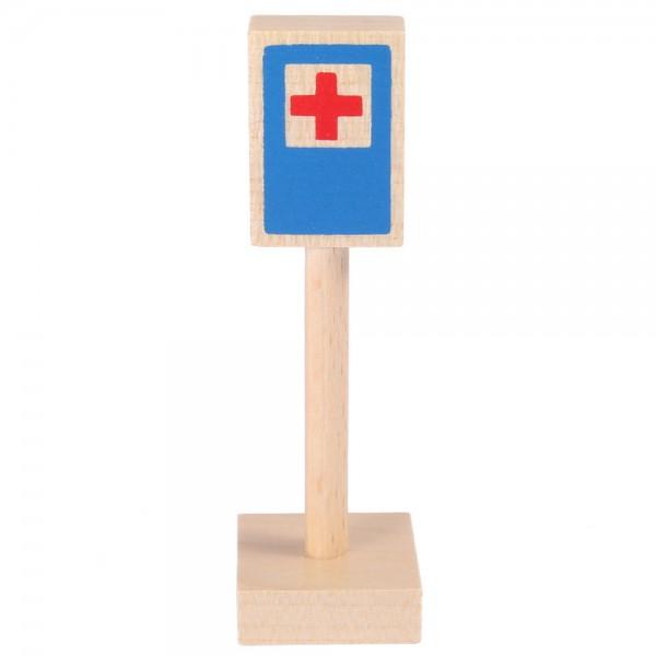 Verkehrszeichen Erste Hilfe
