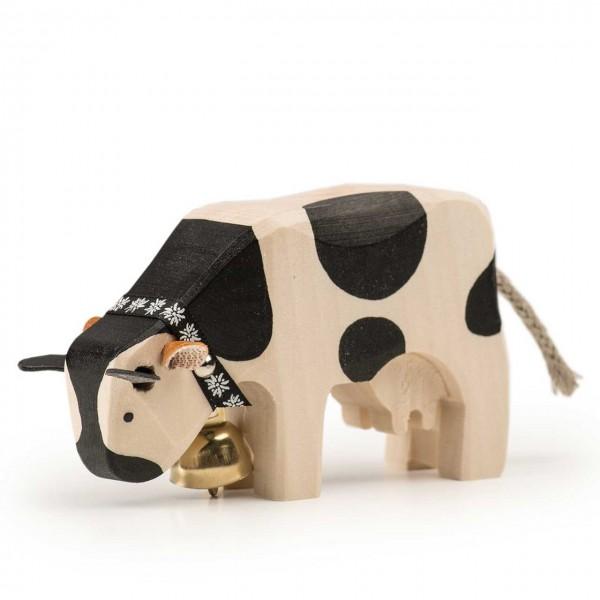 Trauffer Kuh 1 Freiburger fressend